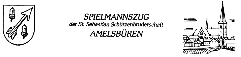 Spielmannszug Amelsbüren 1951